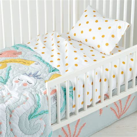mermaid crib bedding set bring sea with mermaid crib bedding amazing