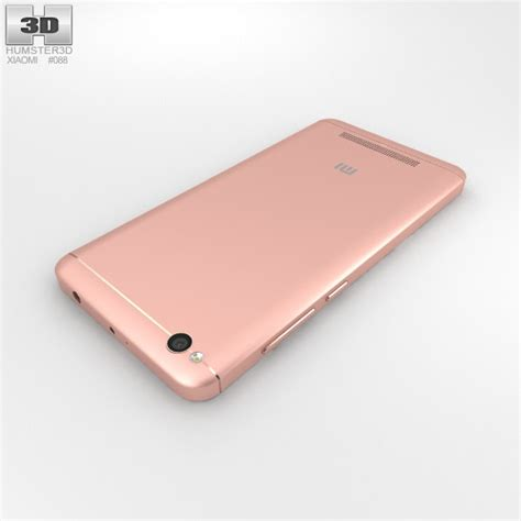 Xiaomi 4a 3d by Xiaomi Redmi 4a Gold 3d Model Hum3d