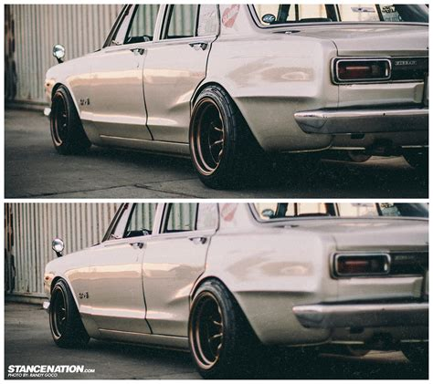 nissan hakosuka stance classic beauty skyline mike s hakosuka stancenation