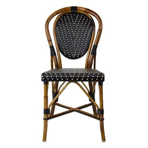 bistro chairs black mediterranean bistro chair 235 furniture