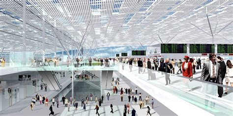 Archlab by Projekte 214 Ffentliche Bauten Flughafen Frankfurt Terminal