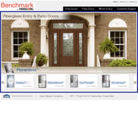 Benchmarkdoors Com Welcome To Benchmark By Therma Tru