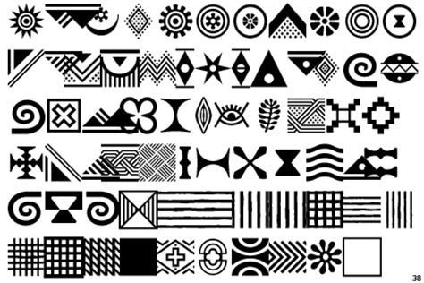 african tribal motifs robert and talbot trudeau flickr