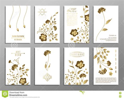 layout magazine flower set of flower wedding ornament concept art traditional