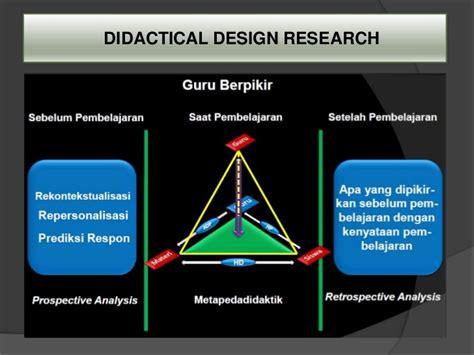 design experiment adalah educational design research