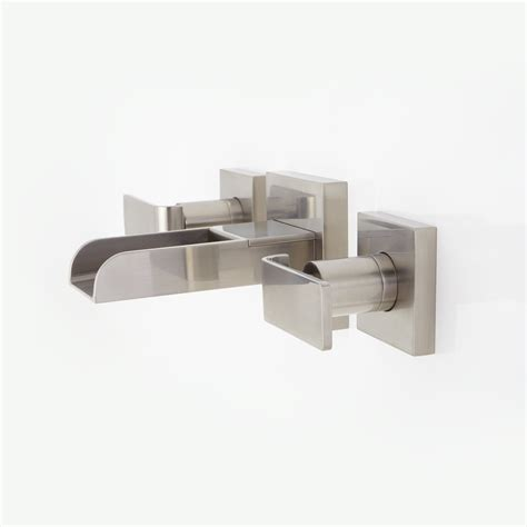 wall mount waterfall bathtub faucet 28 images wall mount waterfall tub faucet brushed nickel