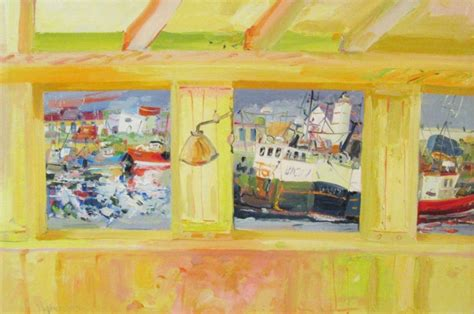thompsons boat house view from the boathouse by james harrigan thompson s galleries