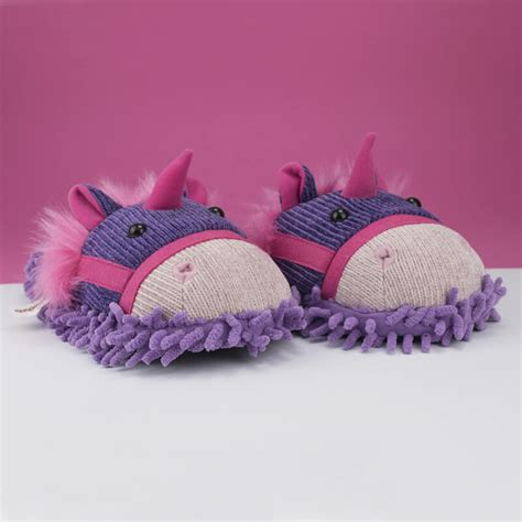 unicorn slippers uk aroma home fuzzy slippers unicorn buy from