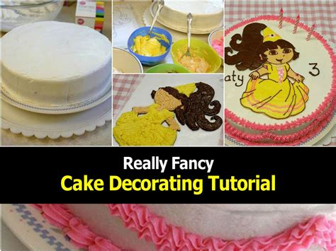 fancy cake decorating tutorial