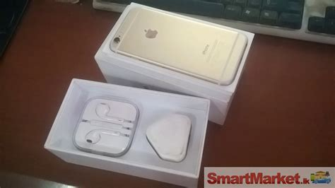 Iphone 6 16gb Gold Fullset Ori iphone 6 gold set