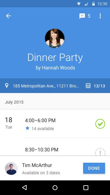 doodle calendar android popular web scheduling service doodle releases its
