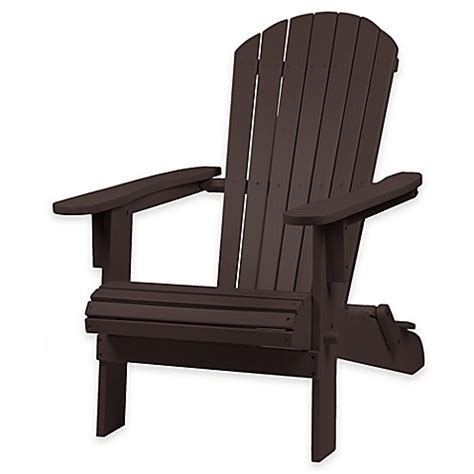 bed bath and beyond chairs westerly acacia wood adirondack folding chair bed bath
