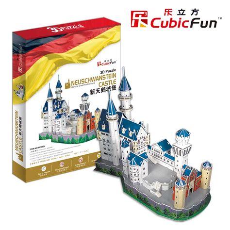 Puzzle 3d By Cubic cubic 3d puzzle quot neuschwanstein castle quot puzzles