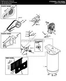 vt631402aj vt631402 husky air compressor parts