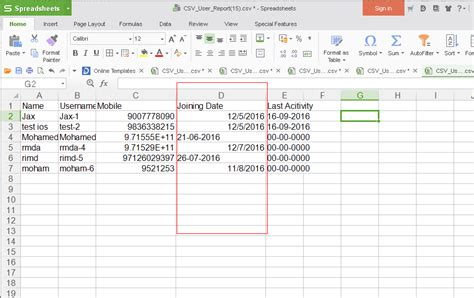 format date codeigniter php date format coming in weird way in csv file using