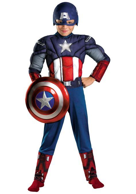 Costum Captain America boys costumes toddler baby costumes