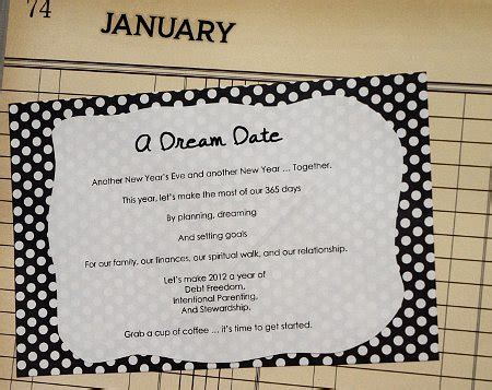 new year of the dates date ideas