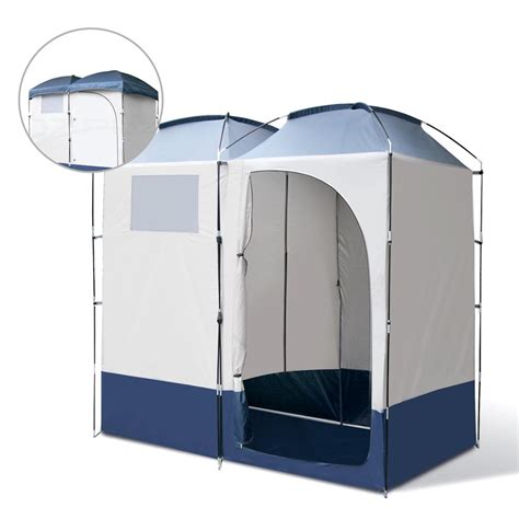 portable bathroom tent double cing shower toilet tent outdoor portable change