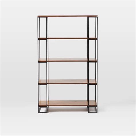 grid frame bookcase west elm