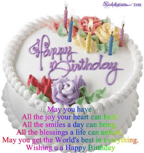 Happy Birthday Cake Images With Quotes Happy Birthday Wishes Birthday Cake Pictures