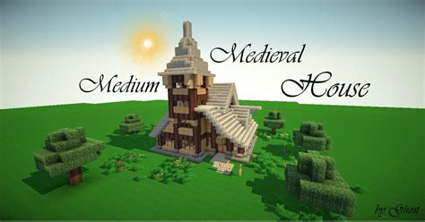 minecraft medium house medium medieval house minecraft project