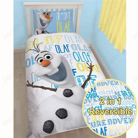 olaf bedding disney frozen bedding curtains accessories elsa anna olaf brand new official ebay