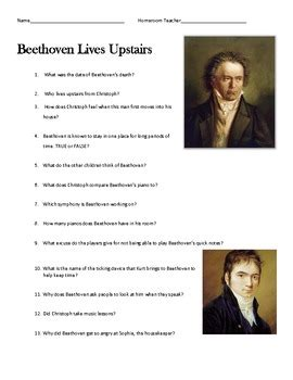 beethoven biography and questions composer specials all six composers beethoven by