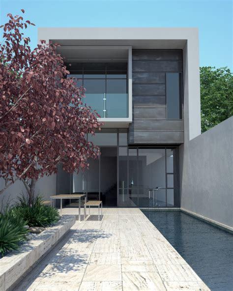 Floor Plans For Narrow Blocks 32 modern home designs photo gallery exhibiting design