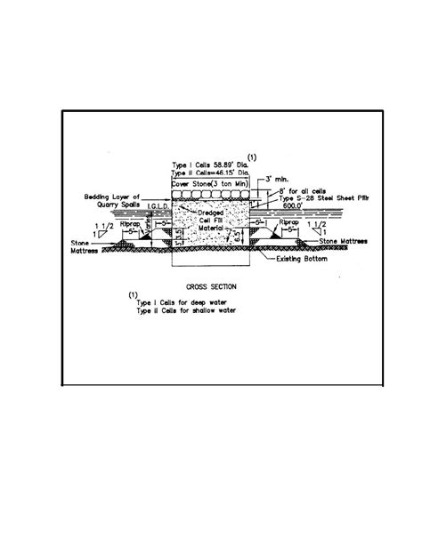 jetty design criteria figure 25 typical sheetpile jetty construction for details