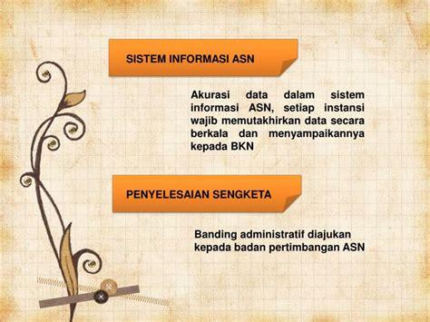 Undangundang Nomor 5 Tahun 2014 Tentang Aparatur Sipil ppt undang undang republik indonesia nomor 5 tahun 2014 tentang aparatur sipil negara