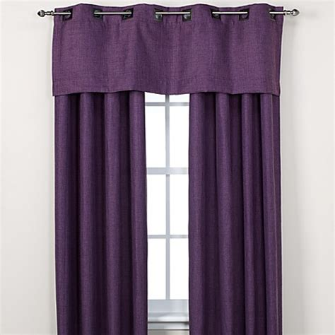 purple valance for bathroom buy reina window valance in purple from bed bath beyond