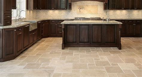 kitchen tile flooring five types of kitchen tiles you should consider