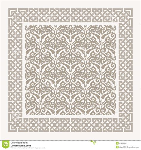 arab traditional pattern arabian pattern stock vector image 41823085