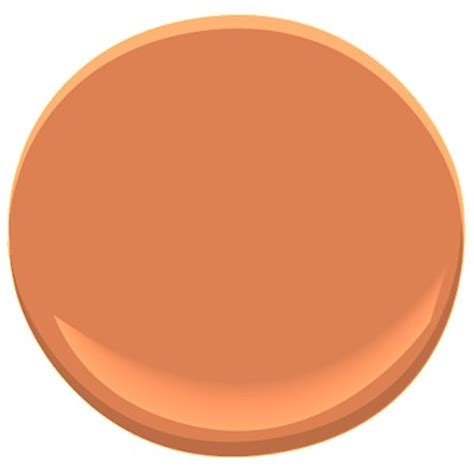 orange blossom 2168 30 paint benjamin orange blossom paint color details