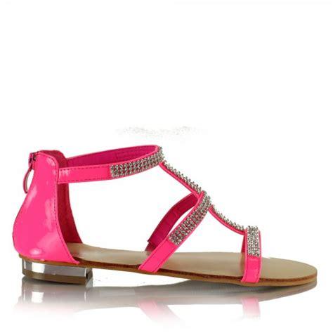 Verona Pink Flatshoes pink flat sandals crafty sandals
