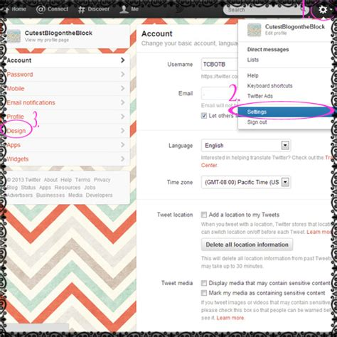 twitter layout change 2015 twitter tutorial free twitter backgrounds the cutest