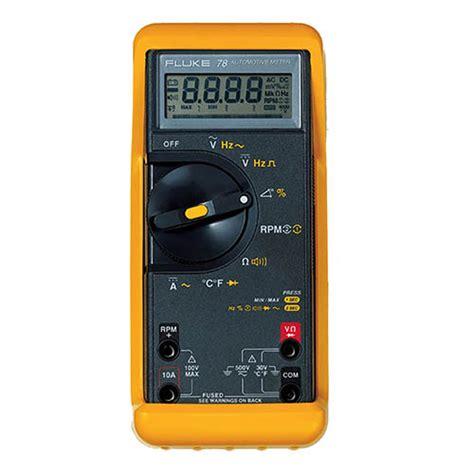 Automotive Multimeter fluke 78 automotive multimeter test equipment depot