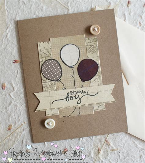Handmade Cards Tutorials - cardmaking tutorial birthday boy card