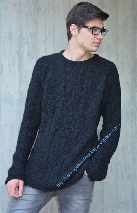 scull sweater knit cable pullover with skull pattern free diagram