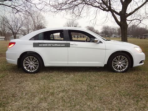 2012 Chrysler 200 Limited by 2012 Chrysler 200 Limited 2 4l 8k Htd Lther Seats Sirius