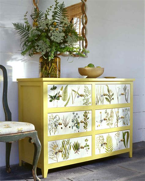 Decoupage Dresser - the magic of decoupage martha stewart