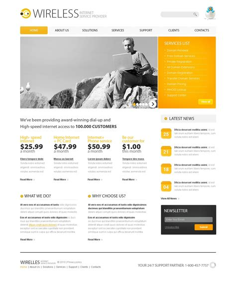 isp psd template 54284