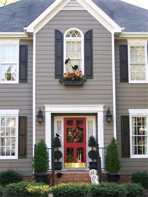 paint colors for exterior shutters exterior shutter color ideas ranch house kitchens update