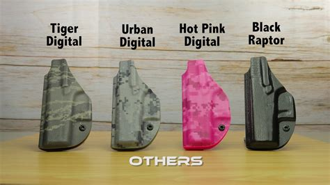 kydex colors kydex colors patterns vedder holsters