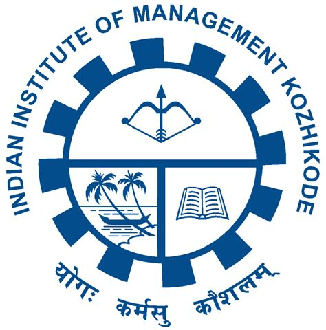 Meaning Of Mba Executive by File Iim Kozhikode Logo Svg
