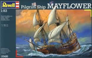1 83 revell germany pilgrim ship mayflower rg5486