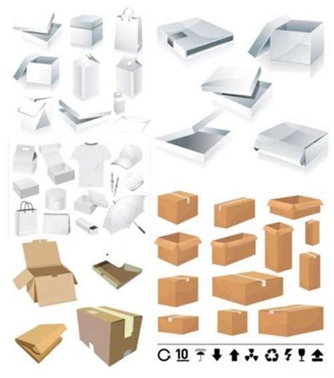 30 sets of free vector packaging design templates