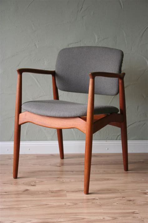 stuhl 60er teak design erik buck teak desk chair for orum 60er