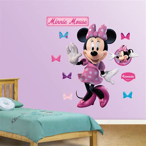 minnie mouse wall stickers disney minnie mouse wall sticker
