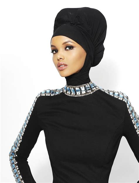 Model Muslim hijabi model halima aden on hopes for fashion and the